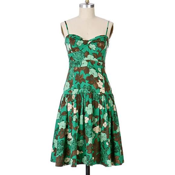 Anthropologie Dresses & Skirts - Anthropologie Moulinette Soeurs Green Tea Dress